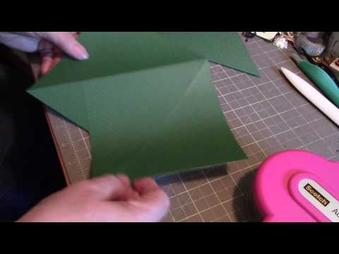 teepee/pyramid card tutorial...