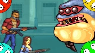 🐾 Текила зомби 2. # 2. Робокоп и МЭР атакуют. Мультик Игра. Tequila Zombies 2