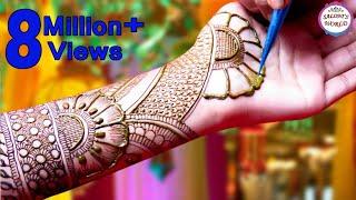 Beautiful Arabic Henna Designs For Raksha Bandhan | Mehndi Designs For Eid by Jyoti Sachdeva.