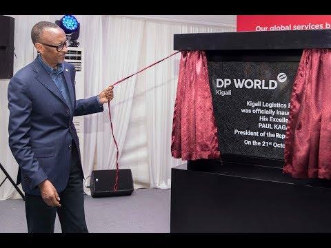 President Kagame inaugurates Dubai Ports Kigali Logistics Platform