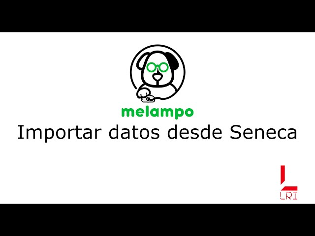 Importar datos de Séneca - Melampo
