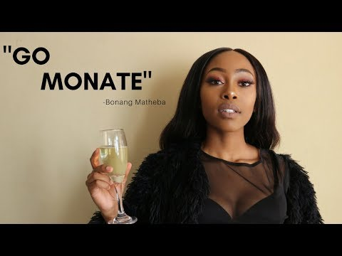 "A ""Go Monate "" make up look 