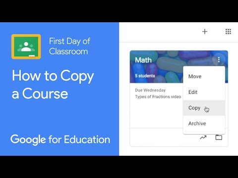 How to Copy a Course