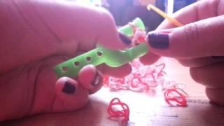 Плетение из резинок урок 2