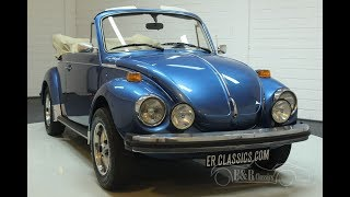 Volkswagen Beetle Convertible 1978 -VIDEO- www.ERclassics.com