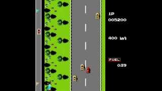 Road Fighter (NES - Family Game) Completado
