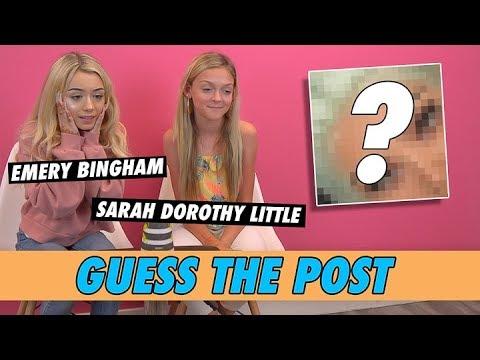 Emery Bingham Vs. Sarah Dorothy Little - Guess The Post