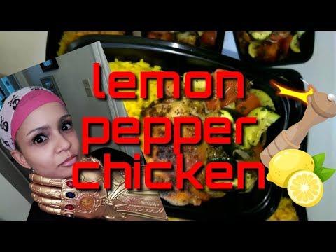 Baked Lemon Pepper Chicken