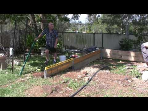 Let's build the retaining wall