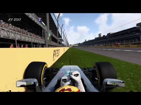 F1 2017 Mexico Hamilton Last to First