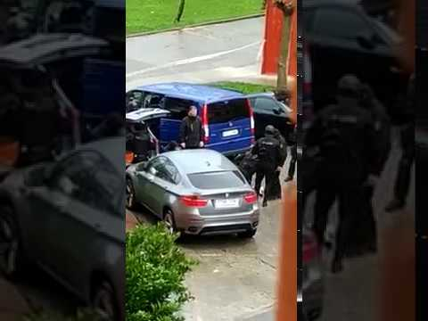 Detención de los implicados en el tiroteo de Santander