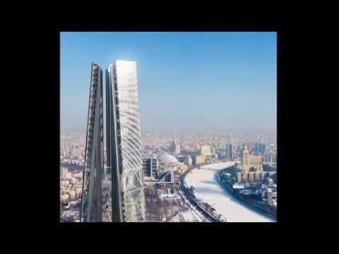 Башня Россия - километровый небоскреб в центре Москвы