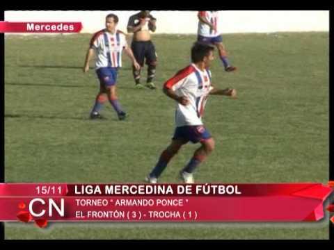 Liga Mercedina   El Fronton 3   Trocha 1   Goles