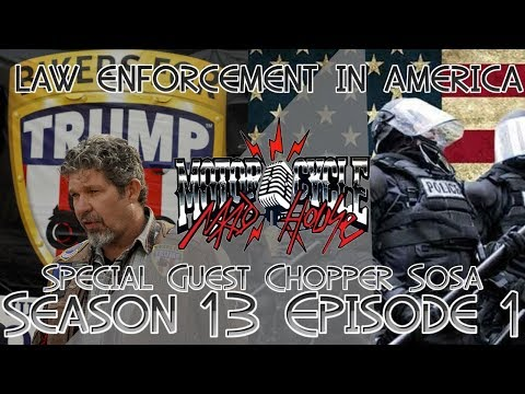 Police attitudes towards bikers and Bikers for Trump Chris Cox