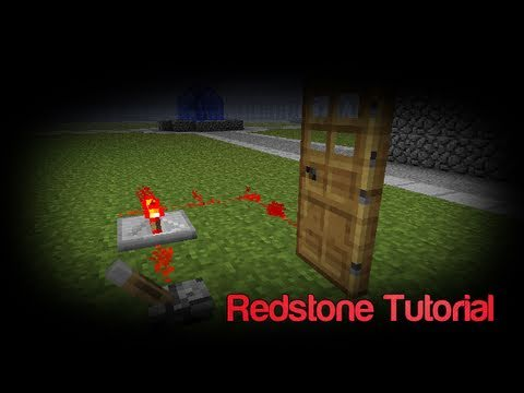 minecraft how to make a redstone lock