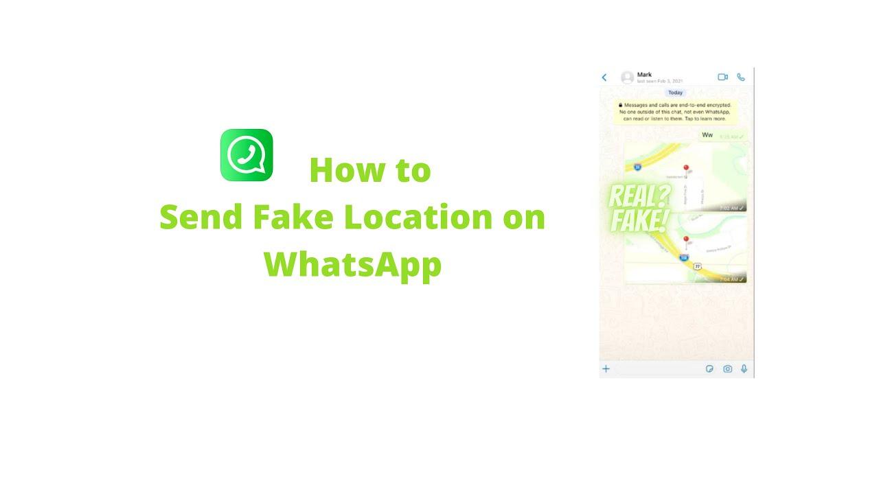 Whatsapp faken iphone standort Fake GPS