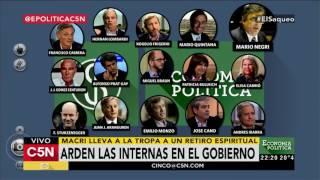 C5N - Economía Política: Programa 20/11/2016 (Parte 2) - Arden las internas del Gobierno