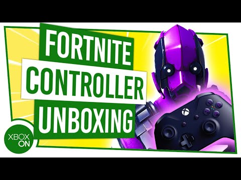 BRAND NEW Fortnite Limited Edition Controller UNBOXING With Dark Vertex Skin!