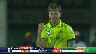 South Africa v England | T20 Series | 1st T20 | Highlights