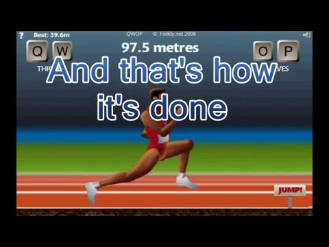 How to beat qwop youtube how to beat qwop ccuart Image collections