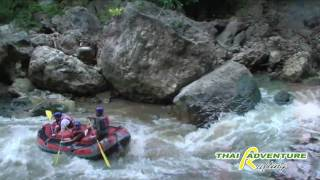 Whitewater Rafting Thailand, The Pai River With Thai Adventure