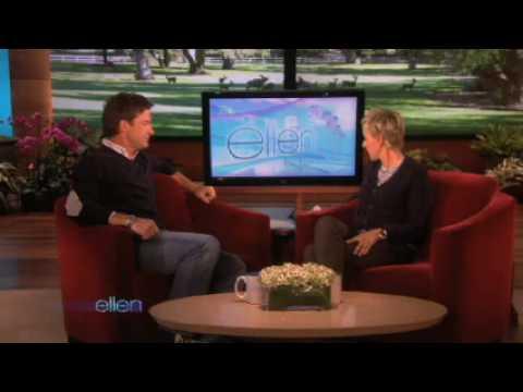 Jason Bateman Gets a New Workoutthe shake weight  on Ellen