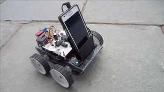Voice Controlled Robot using Android Mobile