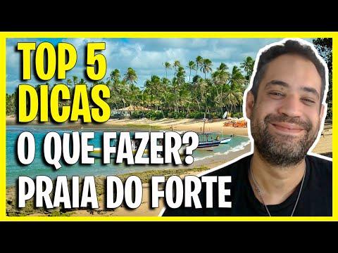 PRAIA DO FORTE BAHIA - O QUE FAZER NA PRAIA DO FORTE - BA? TOP 5 DICAS!