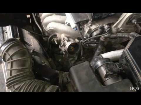 Volvo s60 чистка дроссельной заслонки