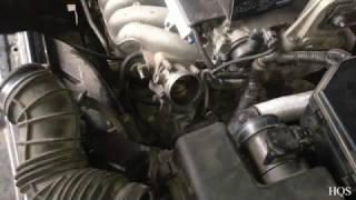 Чистка дроссельной заслонки на примере Volvo S60