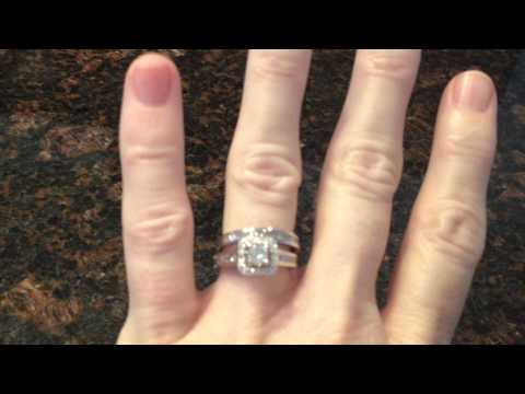 White Gold Vintage Style Engagement Ring Review