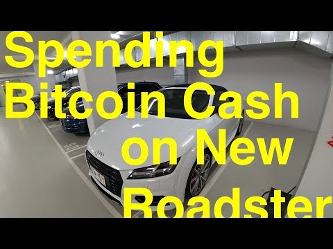 Spending Bitcoin Cash Profit On New Audi TTS Roadster