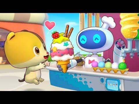 美味的冰淇淋 | 學顏色兒歌童謠 | 好習慣卡通動畫 | 寶寶巴士 | 奇奇 | Learn Chinese | BabyBus