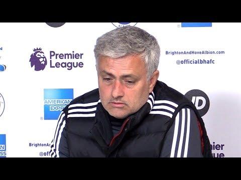 Brighton 1-0 Manchester United - Jose Mourinho Full Post Match Press Conference - Premier League