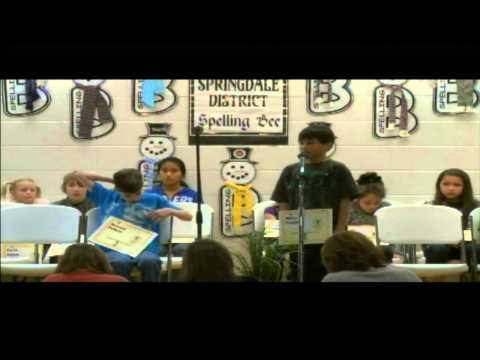 Springdale School District: Spelling Bee