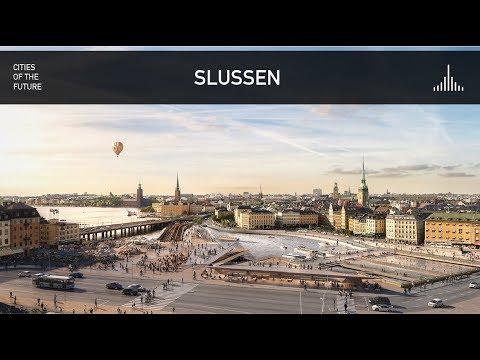Future Stockholm  - Slussen Public Space by Norman Foster