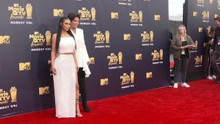 Kardashian West shines on MTV red carpet