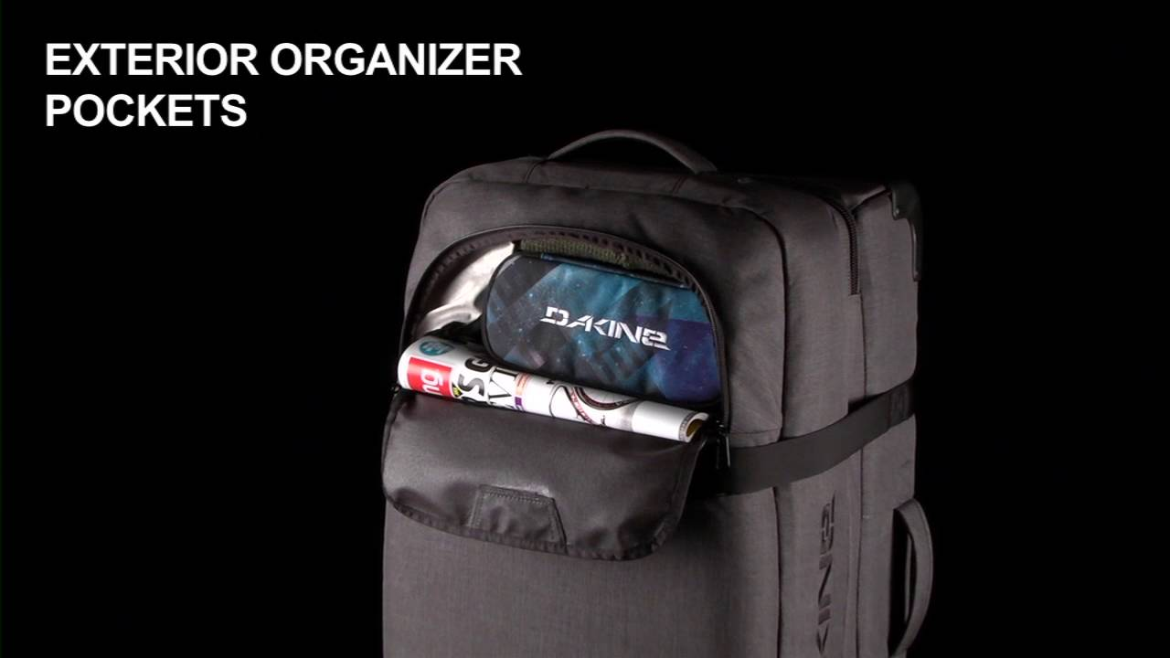 Hyped Sports - Dakine 100 Litre Split Roller - YouTube 076f9be701