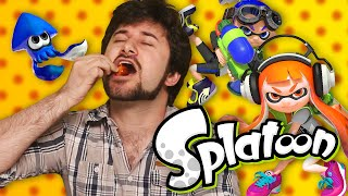 Splatoon - Hot Pepper Game Review Ft. Barry Kramer (game Grumps)