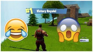 When 4 Noobs Get Their First Win On Fortnite