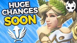 Overwatch - MERCY REWORK AND BUFF - Coming Soon!
