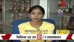 Delhi's 2015 CBSE Class 12 topper M Gayatri talks to Zee Media