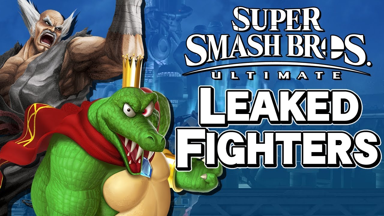 eleven new characters leaked super smash bros ultimate aaronitmar