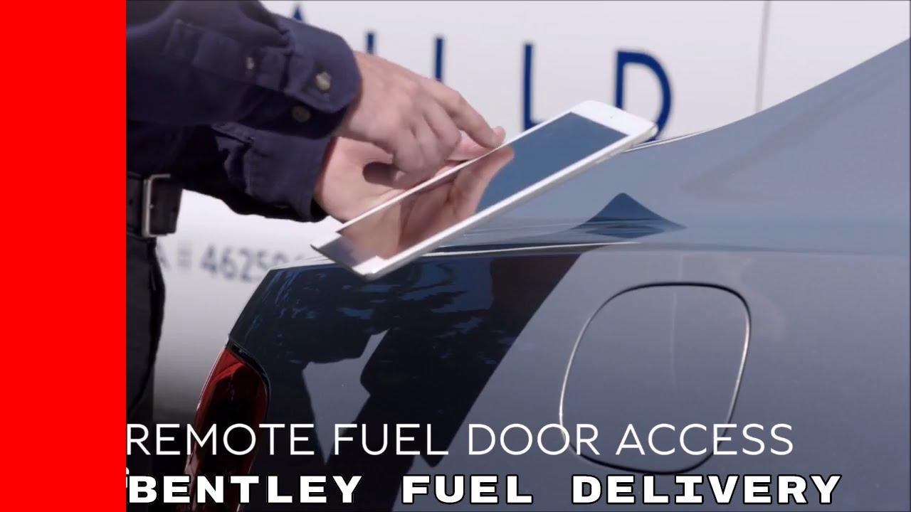 Fuel Delivery - Bentley Trials Concierge Fuel Service