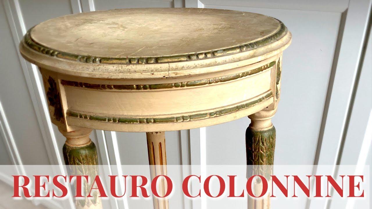 Download Restauro di Colonnine Laccate di inizio secolo 1: antitarlo, pulitura.Arte per Te
