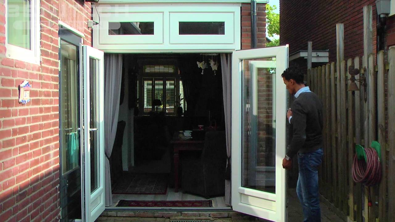 Openslaande Deuren Kunststof : Kunststof openslaande deuren benitech kozijnen® youtube