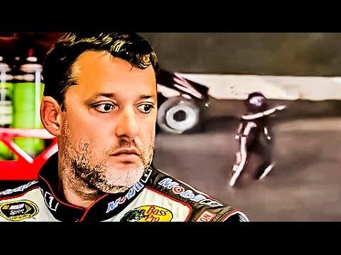 RAW Video NASCAR Tony Stewart Runs Over & Kills Kevin Ward Jr.