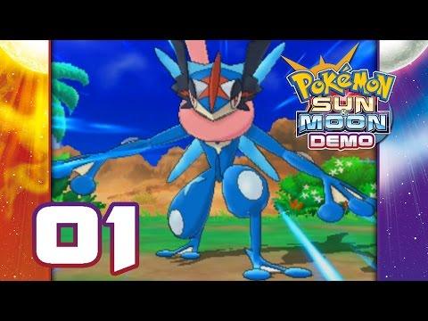 Pokemon Sun and Moon Special Demo Version Part 1 - Ash Greninja!