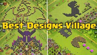 Best And Funny Base Design Compilation | Clash of Clans