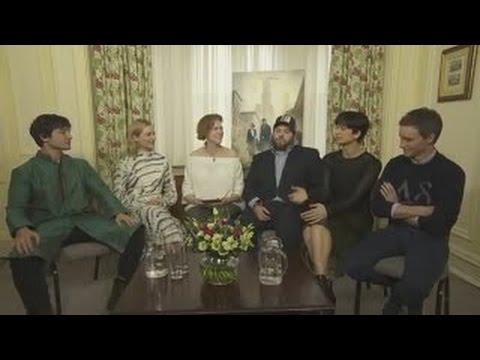 Fantastic Beasts stars Eddie Redmayne, Katherine Waterston, Dan Fogler, Alison Sudol and E